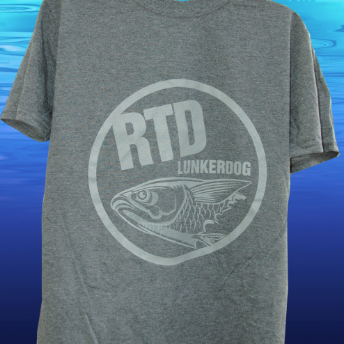 RTD LUNKERDOG Short Sleeve Cotton T Shirt