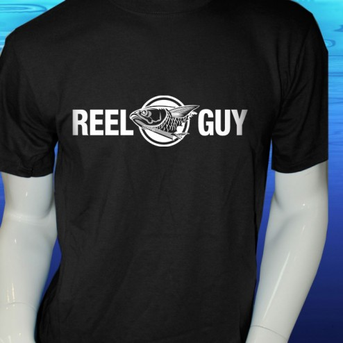 Reel Guy Short Sleeve Cotton T Shirt