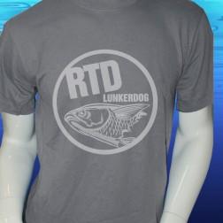 RTD Gray Short Sleeve Cotton T Shirt