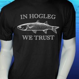In Hogleg We Trust Short Sleeve Cotton T Shirt